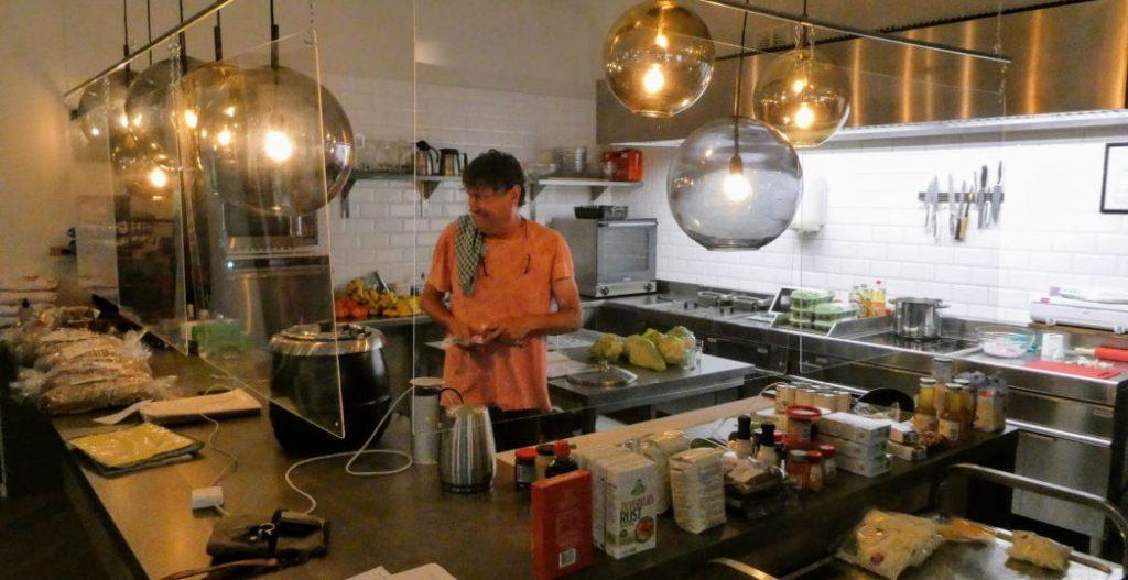 Frank in de keuken