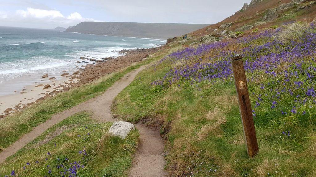 De kleuren van het South West Coast Path