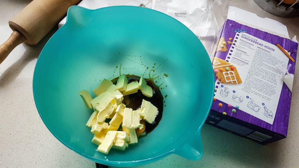 Gingerbread boter, ei en stroop