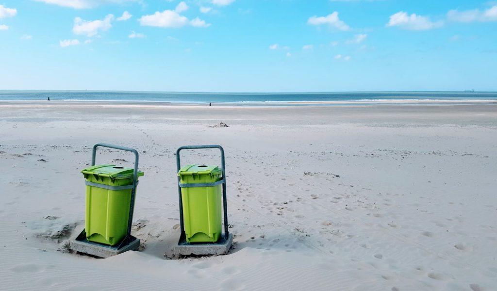 Strand Kennemer Duinen op 21 maart