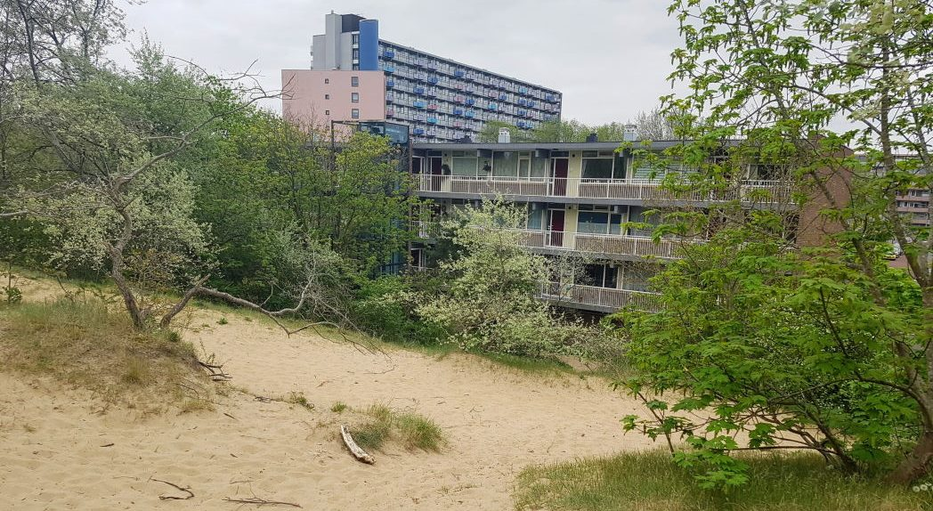 IJmuiden grenst direct aan het duin