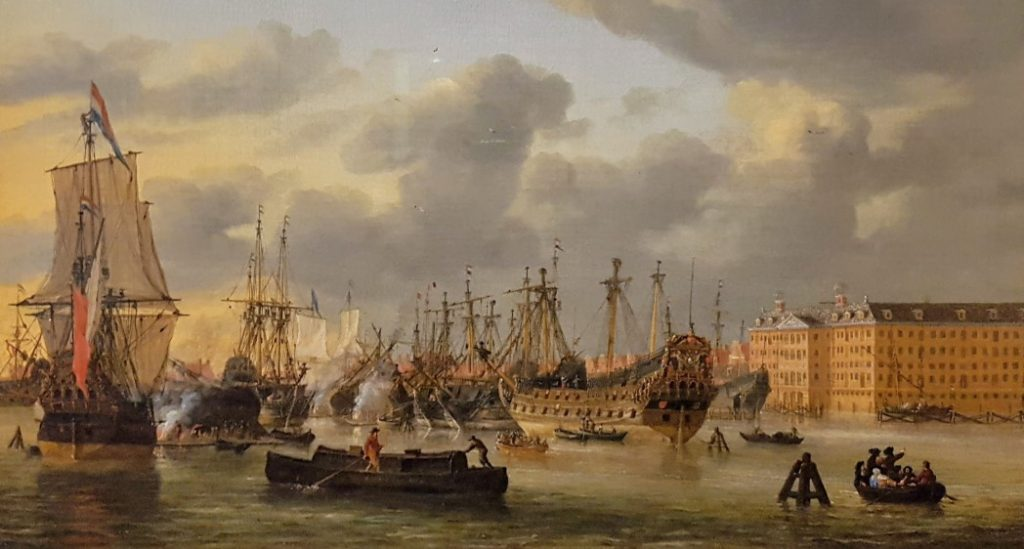 Schilderij Scheepvaartmuseum