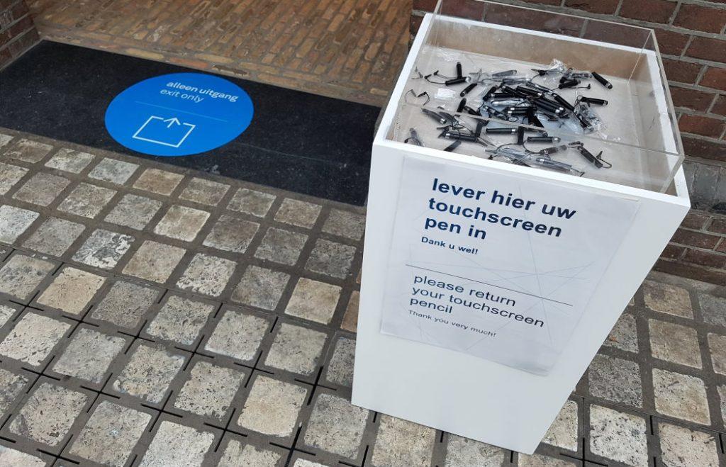 Corona pen Scheepvaartmuseum