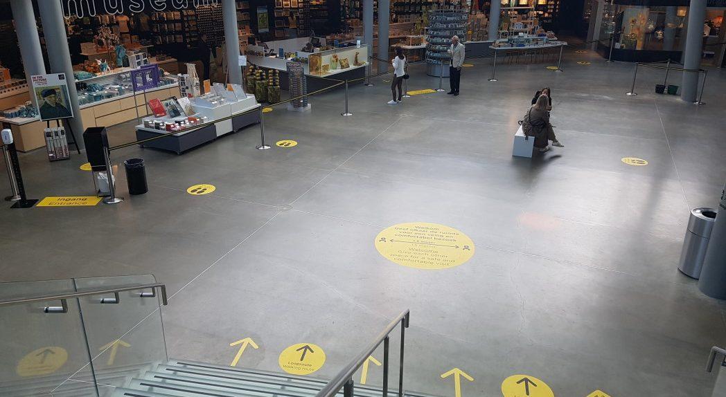 Centrale hal Van Gogh Museum