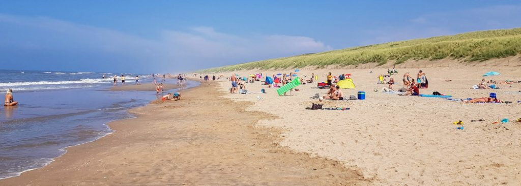 Strand bij Langevelderslag
