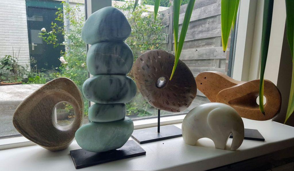 Mijn stenen beelden