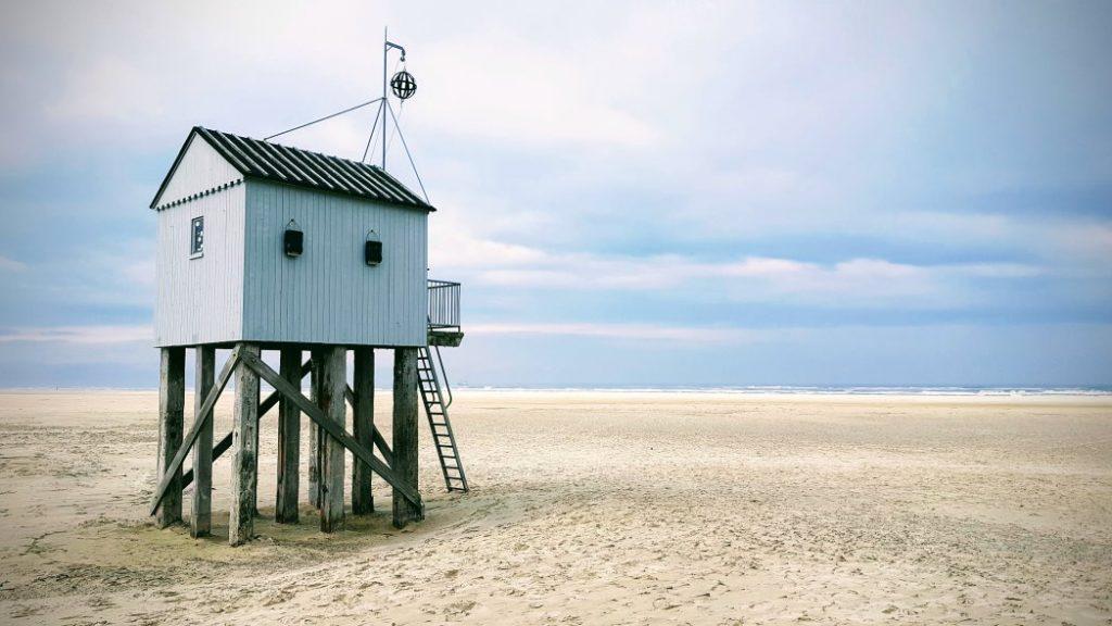 Het strandhuisje van Terschelling