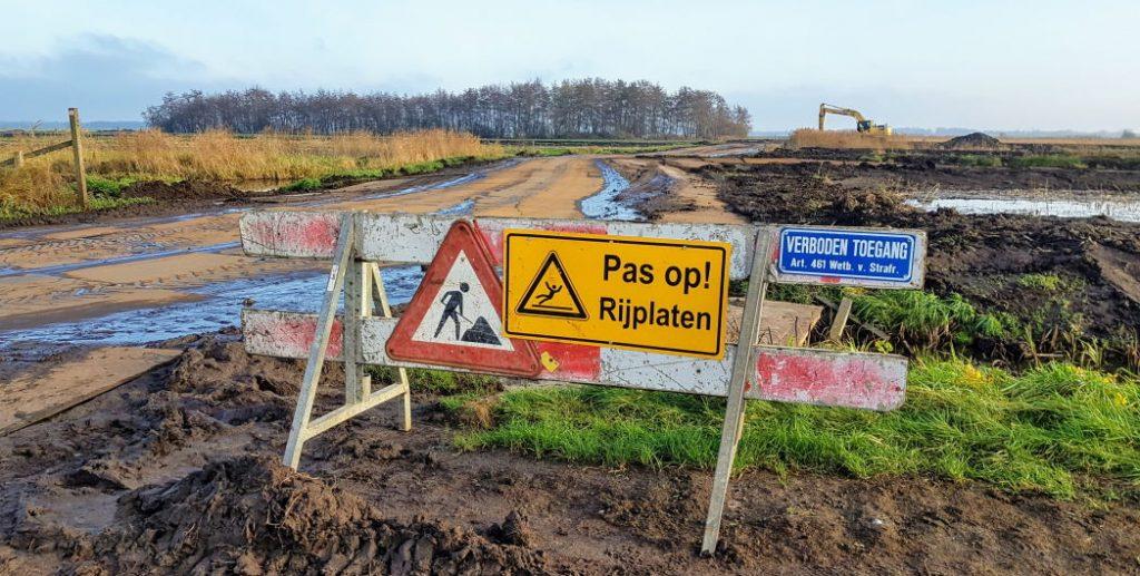 Graafwerkzaamheden Westbroekse Zodden