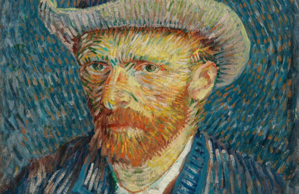 Zelfportret Van Gogh met Hoed