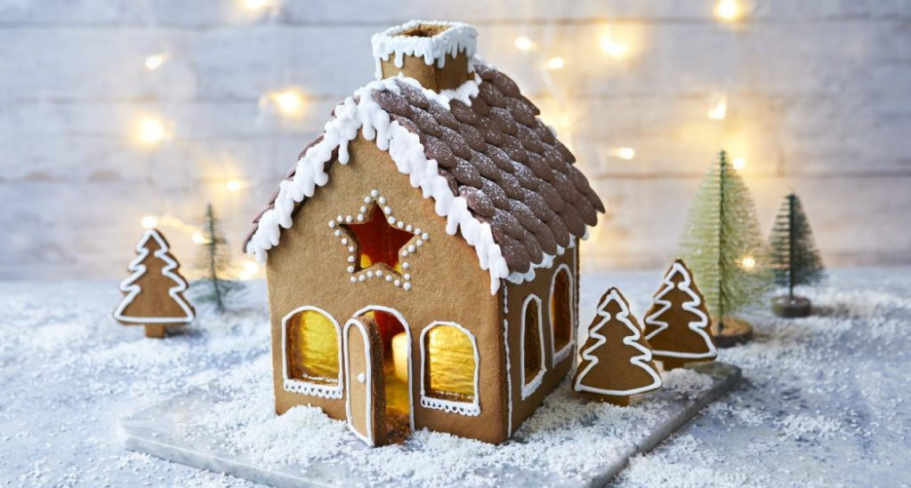 Mary Berry Gingerbread house